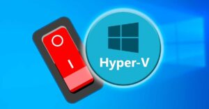 how to enable and disable virtualization in Windows 10
