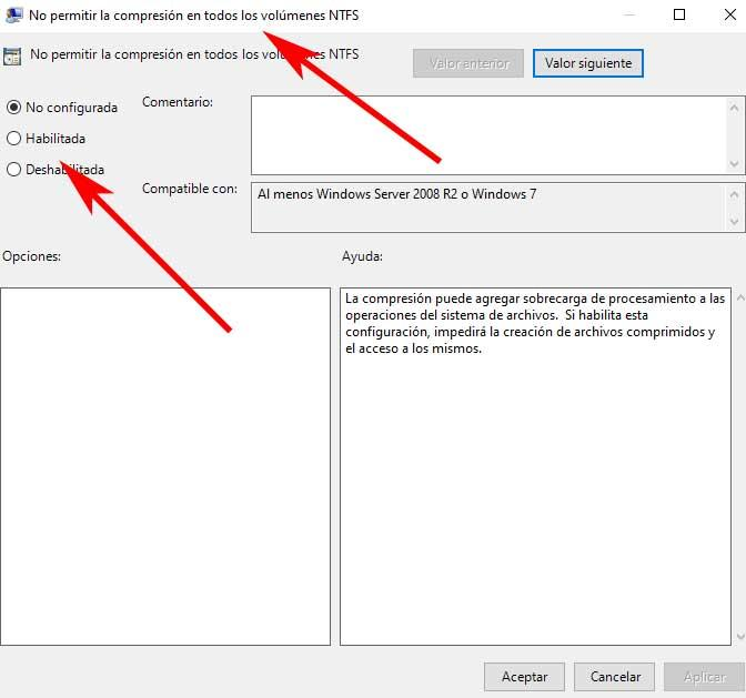 ntfs group policy