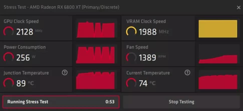 AMD Stress Test