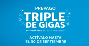 triple gigs in prepaid card