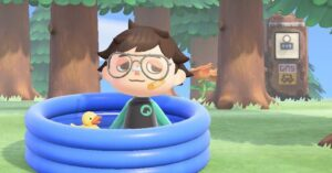 This Animal Crossing glitch lets you jump into the river