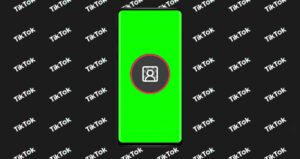 How to use the new green background design on TikTok…