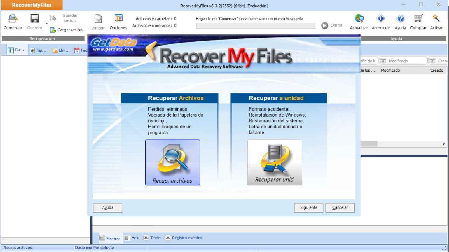 Install Recover My Files