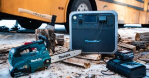 Features of the PowerOak BLUETTI AC200P charging station