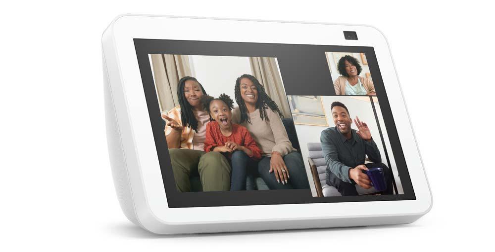 New Amazon Echo Show 5 in white