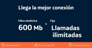 New Movistar Conecta 600 Mbps rate: conditions and prices