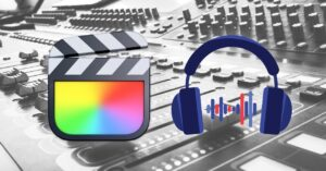 How to edit only audio in Final Cut and in…