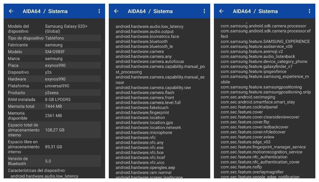 aida64 system