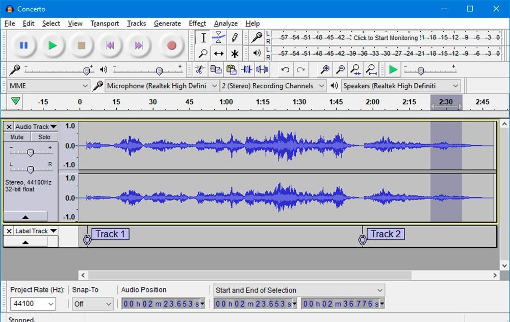 extract audio