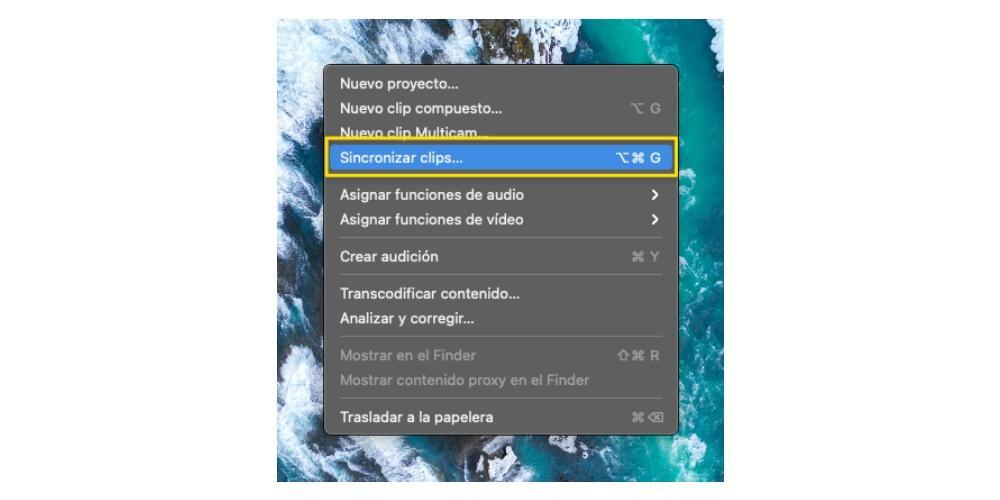 Synchronize clips automatically