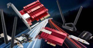 Best ASUS 10G Multigigabit and WiFi 6 network cards for…