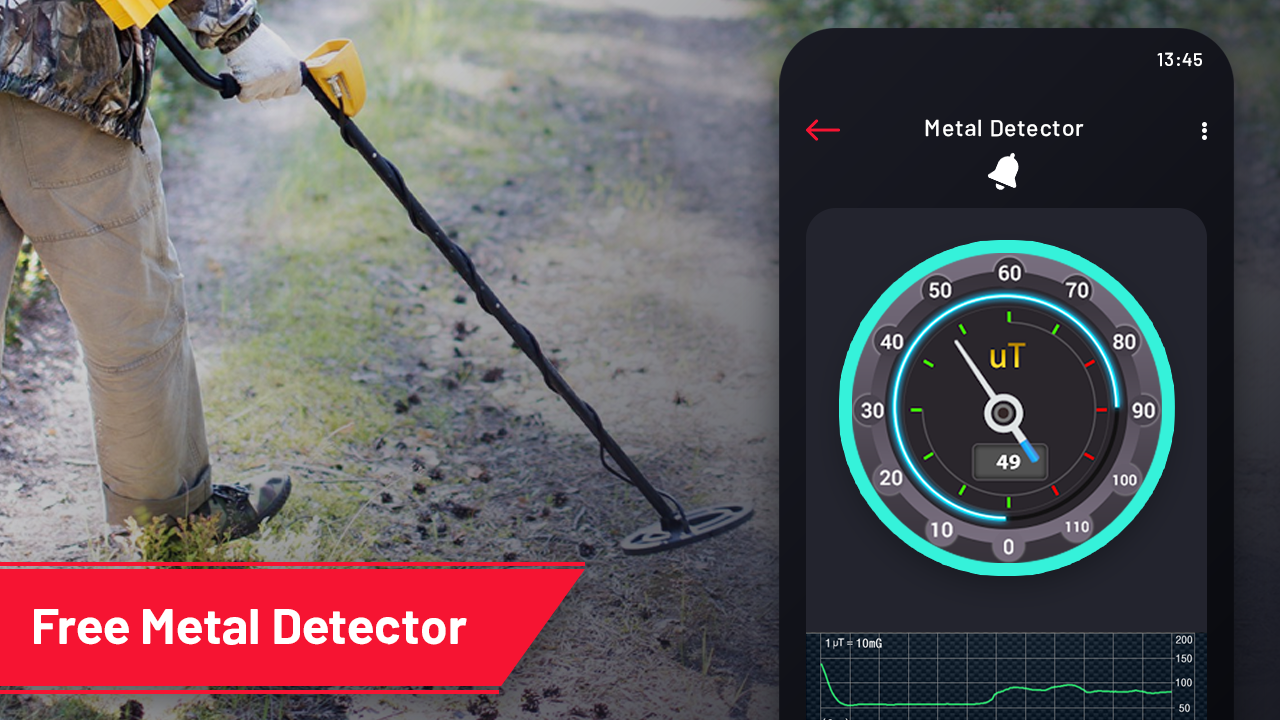 metal detector with sound