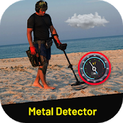 Real sound metal detector - sniffer detector