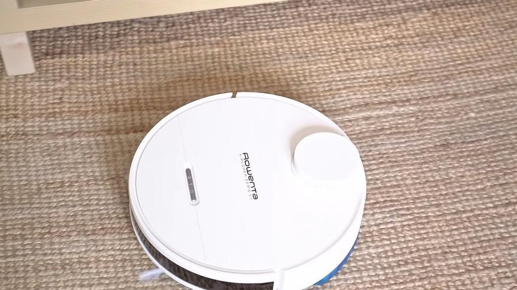 Rowenta X-Plorer Series 95 cleaning a carpet