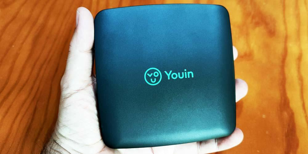 Youin You-Box in hand
