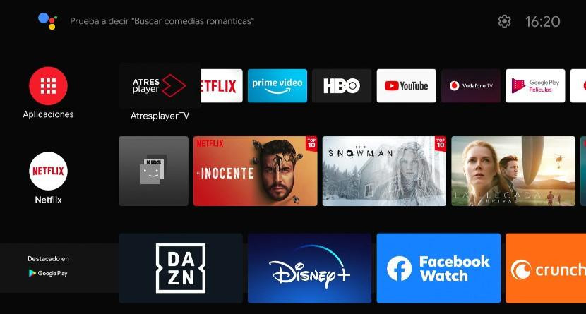 Android TV on Youin You-Box