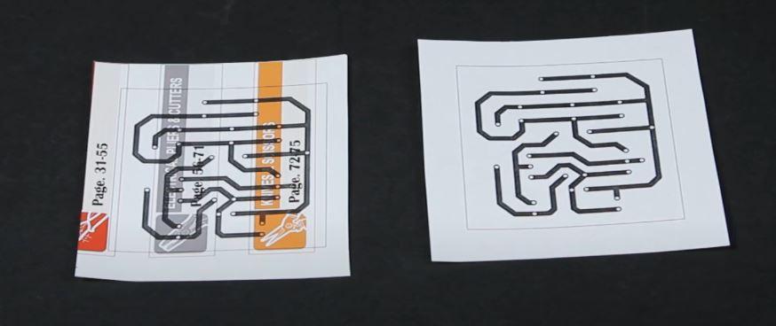 Printed custom PCB