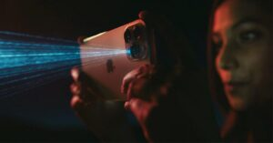 What is the LiDAR sensor on the iPhone for?