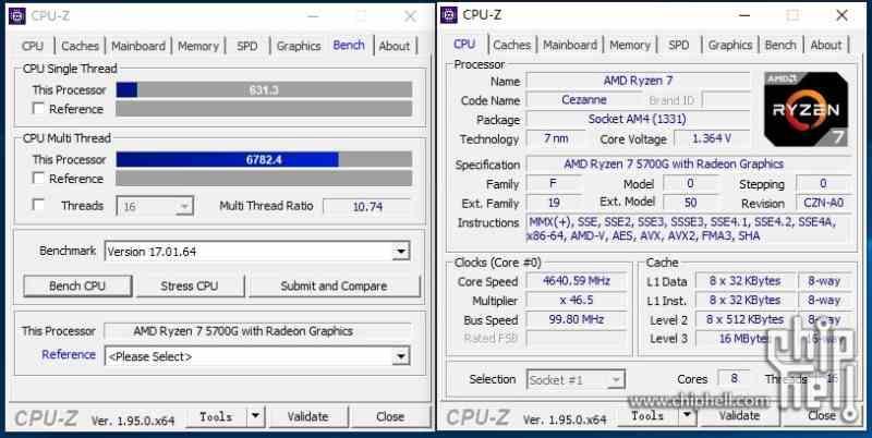 Ryzen 7 5700G AM4 Benchmark
