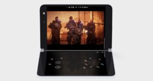 Use the Surface Duo like a Nintendo DS with the…