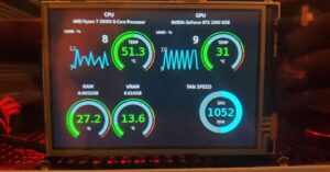 How to use a Raspberry Pi to monitor PC status