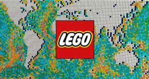 Lego set with pieces record is a map of the…