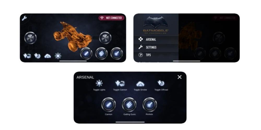 Batmobile RC Controller