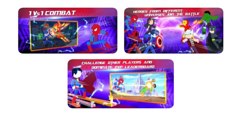 Super Stickman Heroes Warriors