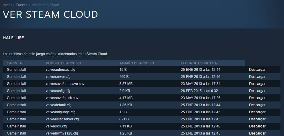 Steam Cloud - View save game files