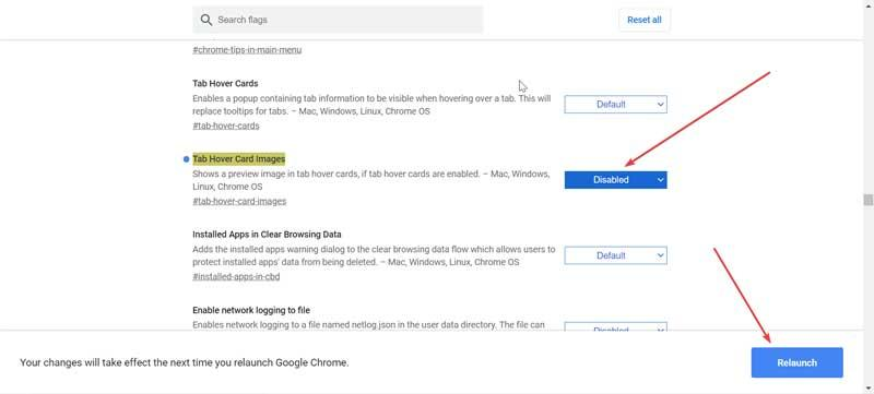 Disable image preview in Chrome