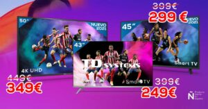 TD Systems Cheap 4K Smart TV Offer for Euro 2021