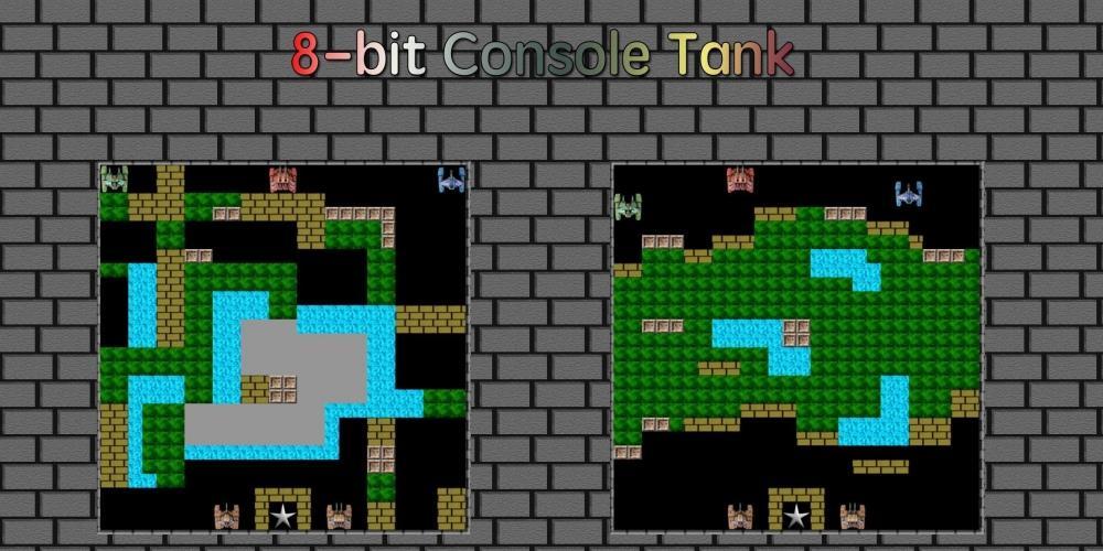 8bit console tank