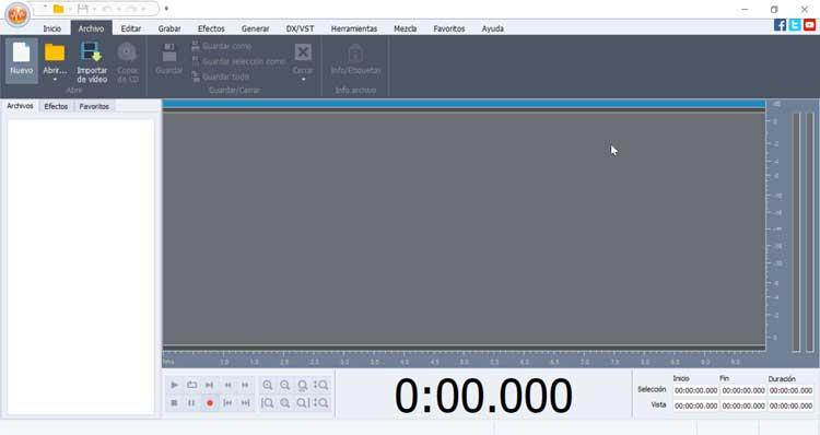 AVS Audio Editor interface