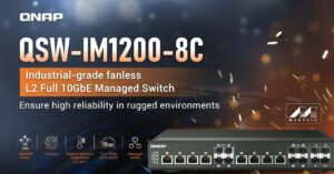 First industrial switch with 10G Combo ports