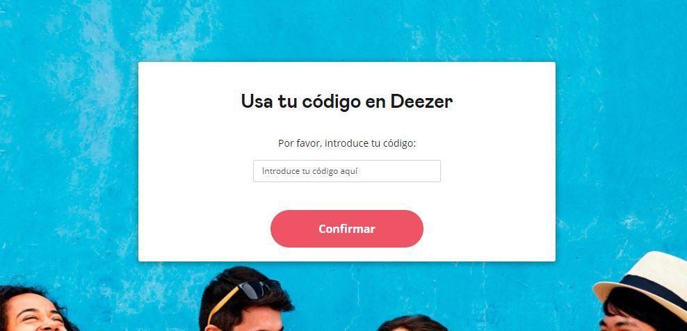 code deezer
