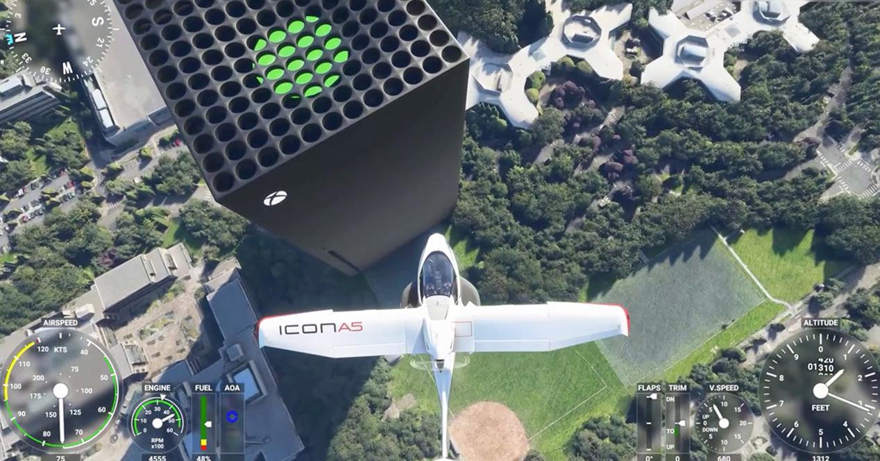 Xbox Series X Flight Simulator