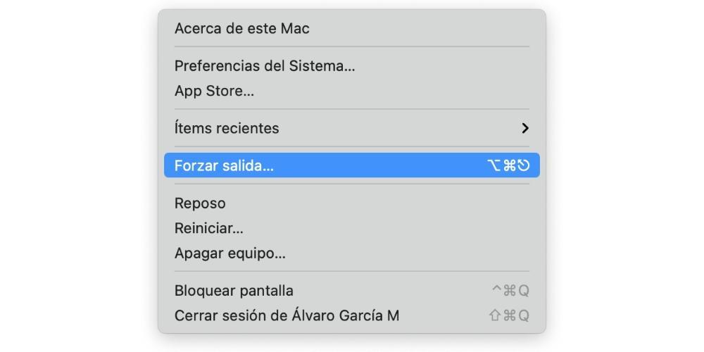 force exit mac