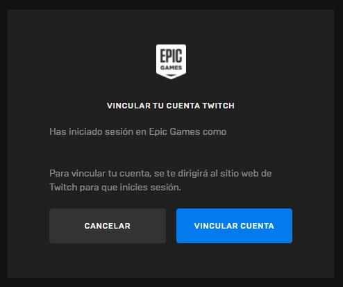 Epic Games Link Account