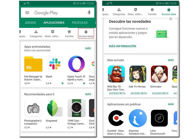 free apps betas