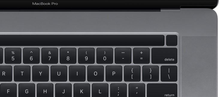 keyboard macbook pro 16 inch