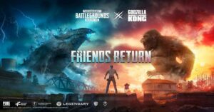 Godzilla vs Kong event in version 1.4
