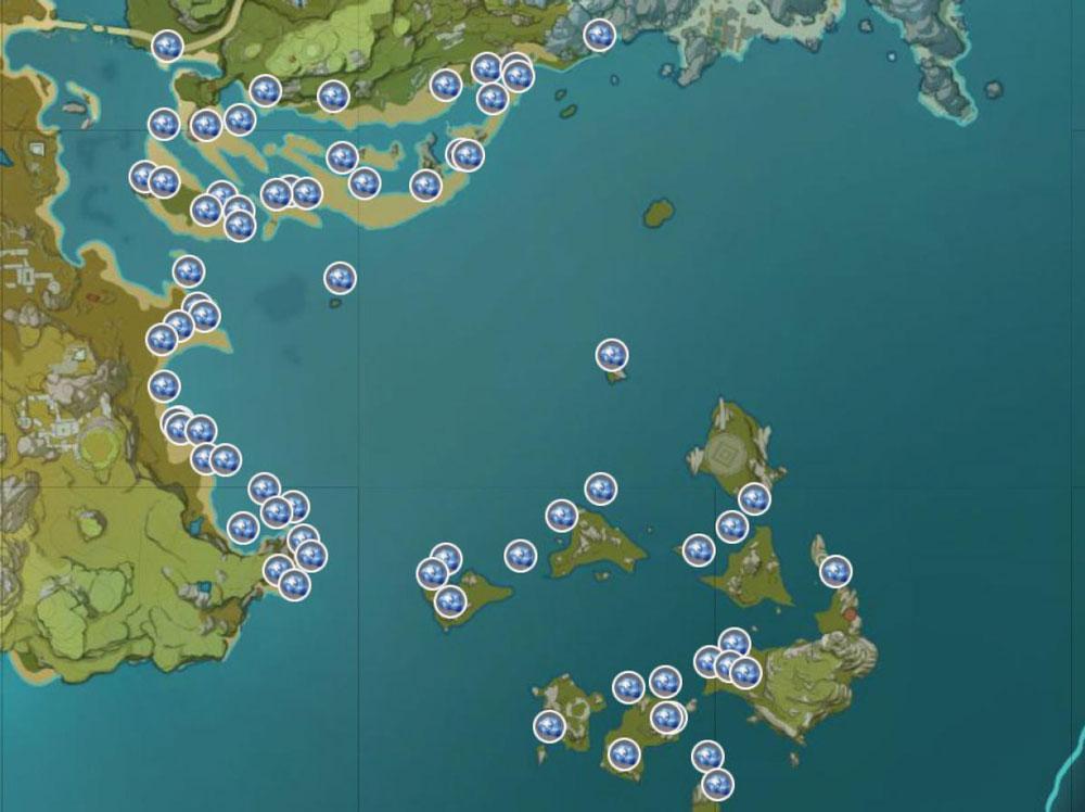 genshin impact star conch map