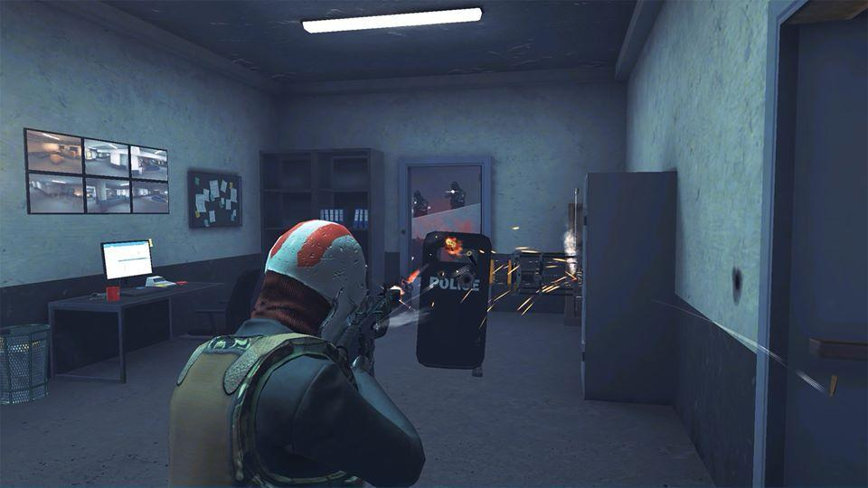 armed heist third person