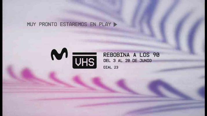 New Movistar VHS channel