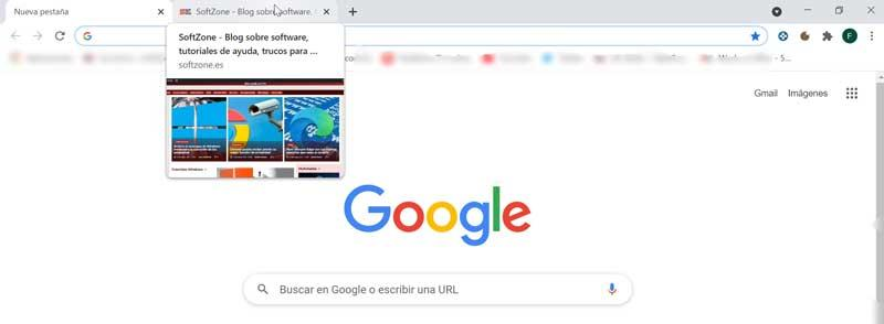 Image preview in Chrome enabled