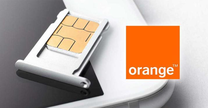 orange sim swap card