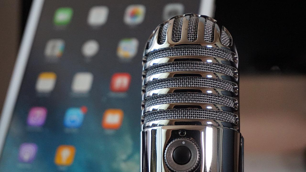 Microphone iPad Podcast