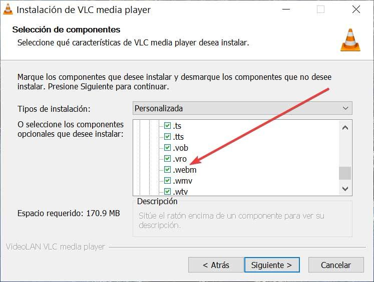VLC Component Selection