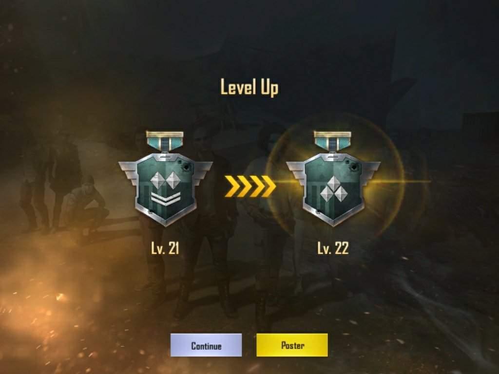 level up pubg