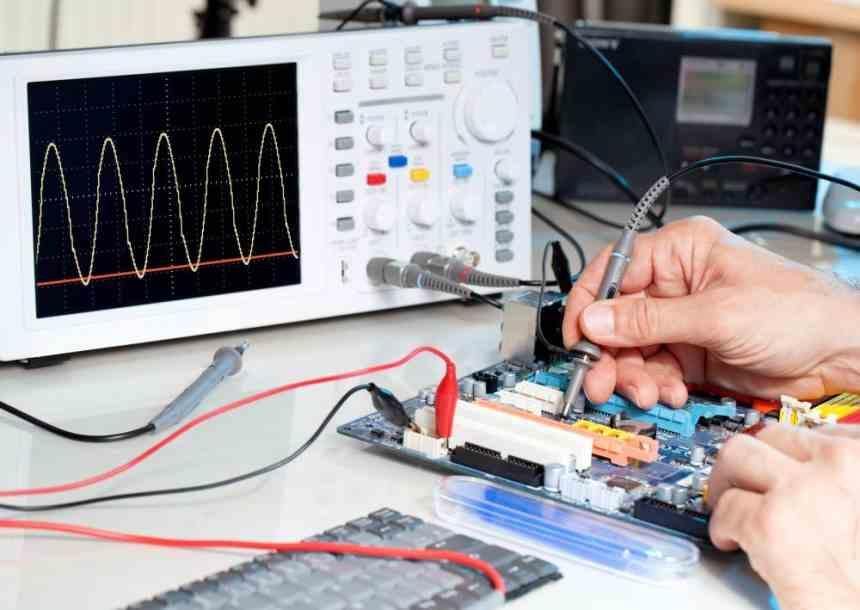 design oscilloscope chips